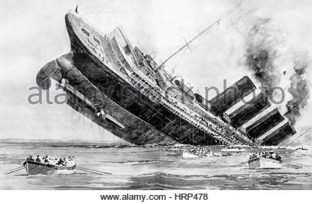 german u boat sinks the lusitania cause and effect rms lusitania was a british ocean liner torpedoed and sunk