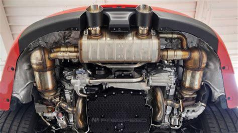 porsche exhaust system porscheboost comparison of 2017 porsche 991 2 4s