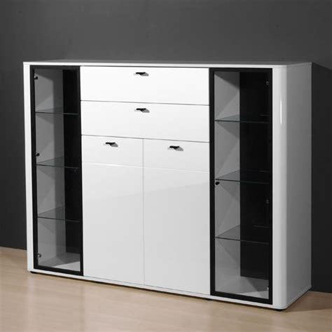white high gloss buffet white high gloss sideboard living room furniture