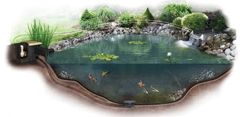 Backyard Pond Supplies by Triyae Backyard Koi Pond Kits Various Design