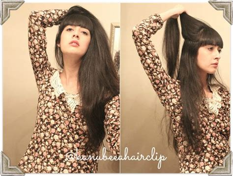 Rambut Sambungan Hair Clip by 17 Best Images About Tutorial Rambut On Buns
