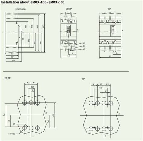 Breaker Schneider Ezc400n 3p 320a schneider molded circuit breaker nsx 400n 3p china