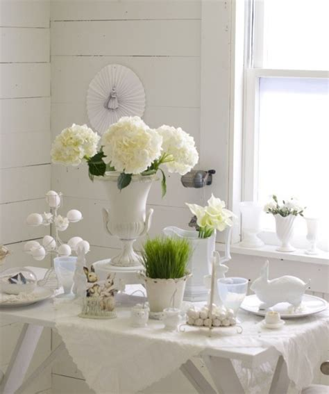 easter decorations ideas 26 refined white easter d 233 cor ideas digsdigs