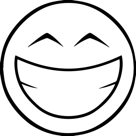 smiley coloring page emoticom happy emology smiley coloring page