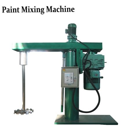 paint mixing machine the feature of industrial paint mixing equipment