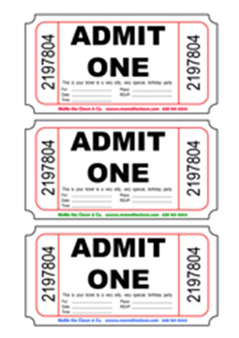 admit one ticket invitation template admit one invitations custom invitations
