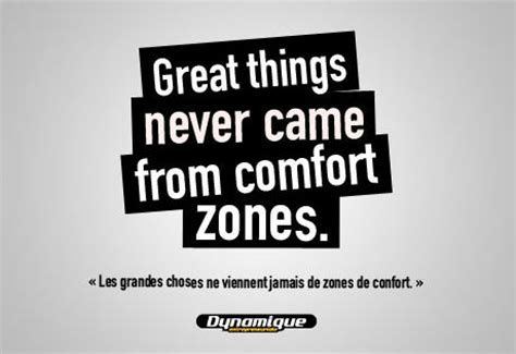 great things never came from comfort zones great things never came from comfort zones