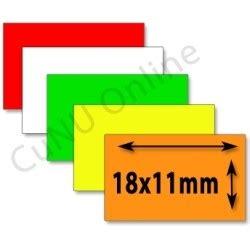 Etiketten Contact by Etiketten 18x11 Preisetiketten F 252 R Contact Preisauszeichner