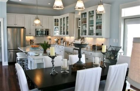 Open Concept Kitchens And Dining Rooms Best Home Open Dining Room