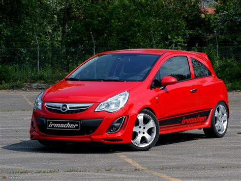 opel door irmscher opel corsa 3 door d 2010 photos 1600x1200