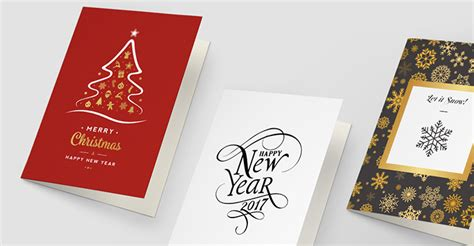 Kartu Ucapan Baru Ukuran Kecil kartu ucapan natal dan tahun baru untuk mempererat kolega bisnis