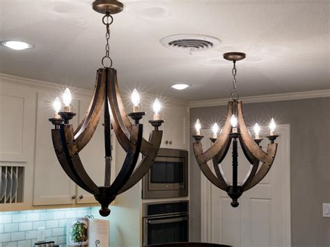 Kitchen Chandeliers Lighting 1968 Fixer In An Neighborhood Gets A Fresh Update Hgtv S Fixer With Chip And