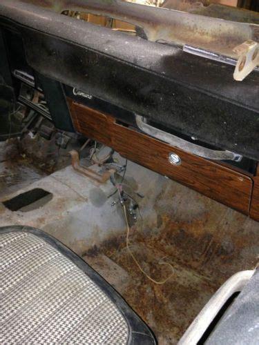 find   camaro factory tach clock deluxe interior woodgrain dash project  clinton