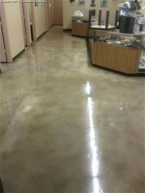 Bathroom Organization Ideas by After Picture Of Stained Concrete Floor Waxed Image