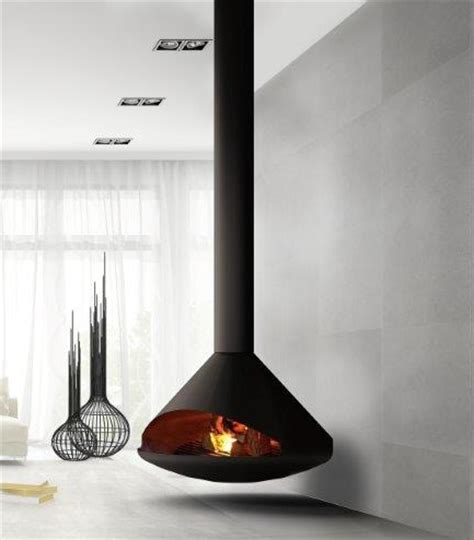 suspended gas fireplace cone suspended wood burning fireplace