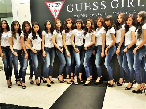 Guess Who Supermodel Out And About by New Guess Summer Collection And Guess Model Search