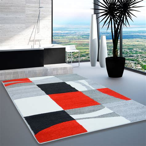 moda tappeto tappeto moda design moderno soggiorno reticolo plaid rosso