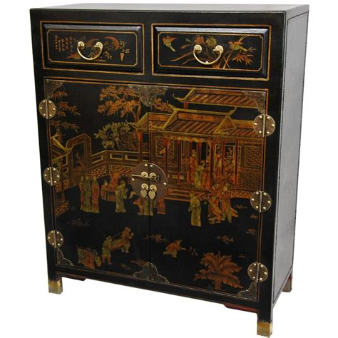 oriental sofas oriental furniture black lacquer two drawer chest