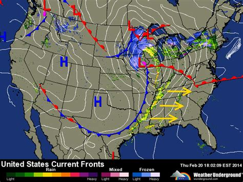 weather map of us with fronts cold front weather map www imgkid the image kid