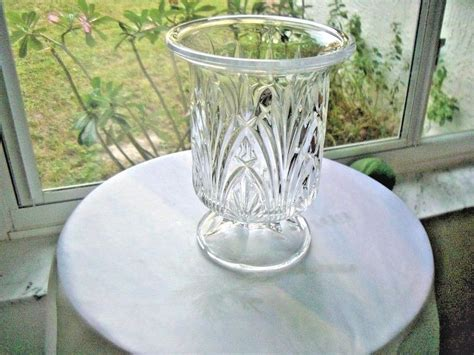 Large Candle Holder Centerpiece by Large Lead Centerpiece Candle Holder Vase Ebay