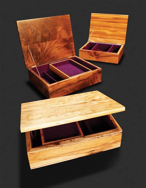 woodworking shows how to make a basic jewelry box from scratch
