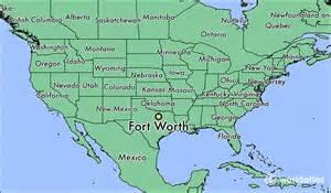 where is fort worth tx where is fort worth tx located
