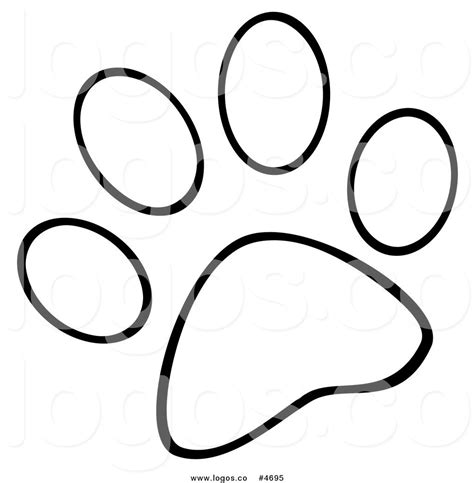 paw print coloring page dog paw tattoo coloring pages