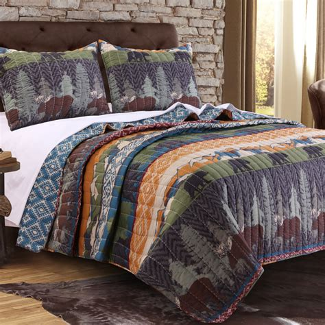 greenland bedding black bear lodge by greenland home fashions