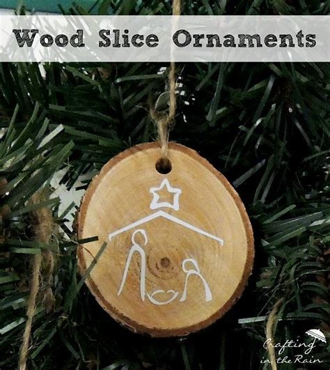 diy wood slice ornaments diy wood handmade christmas