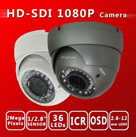 Cctv Sony Exmor free shiping hd sdi 1080p 1 2 8 sony exmor sensor digital security varifocal dome 36 ir