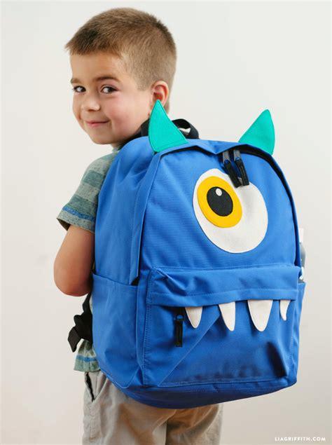 DIY Kids Backpacks   Lia Griffith