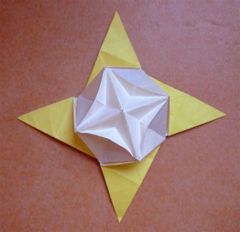 3d Origami Box - origami box lid box lid and box one
