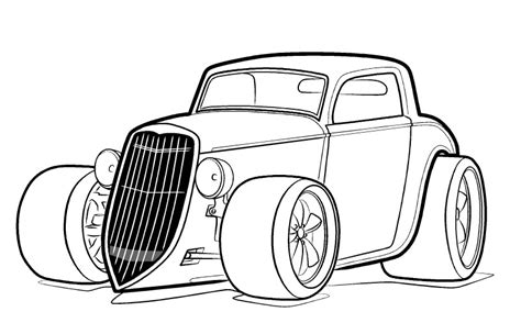 coloring pages hot rod cars hot rod coloring page bing images coloring pages for
