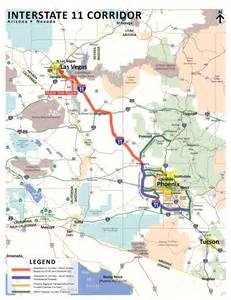 us 93 arizona map with two year adot study interstate linking valley with