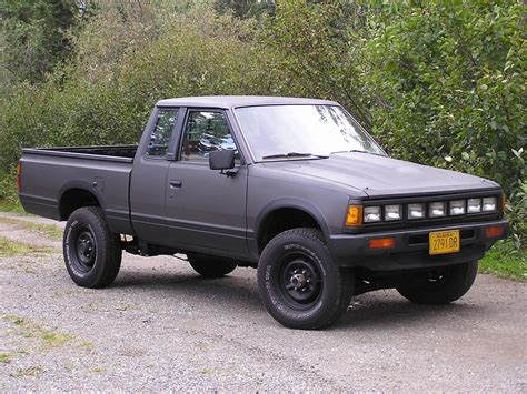 nissan pickup 1987 1986 nissan pickup king cab 4x4 autos post