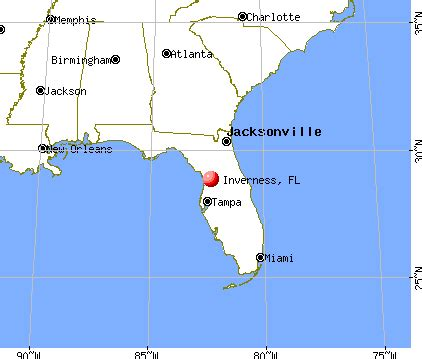 inverness florida map image gallery inverness fl map