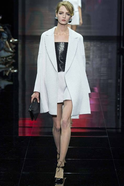 Armani Brings Haute Couture To Masses by Armani Priv 233 Haute Couture Fall 2014 Collection Fab