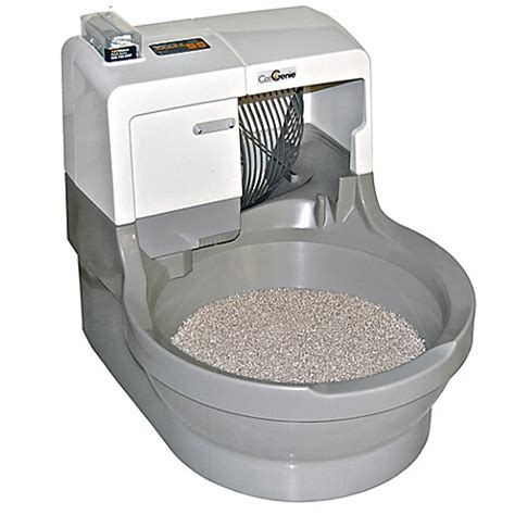 bed bath and beyond flushing buy catgenie 174 self washing flushing cat box from bed bath
