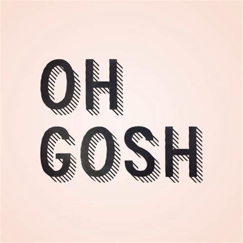 Gosh With gosh theyallhateus
