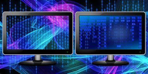 different wallpaper for each desktop windows 10 how to use different wallpapers for each monitor in