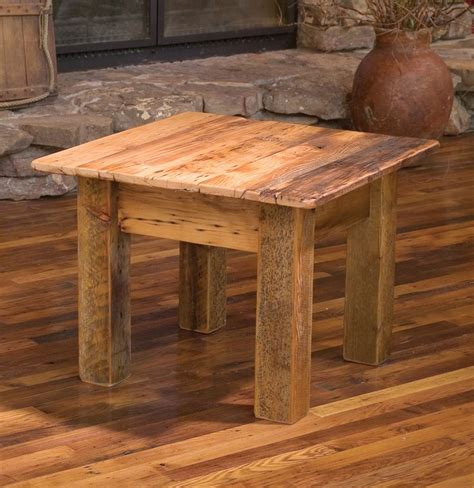 diy plans barn wood end best 20 wood end tables ideas on diy living