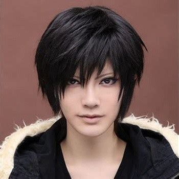 boy real haircuts anime hairstyles for guys in real boy shorts wig