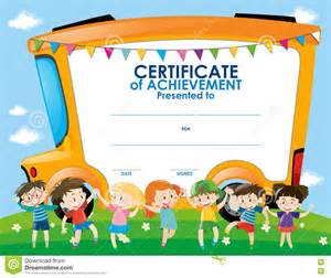 Children S Certificate Template by Doc 16501275 Certificate Template For Certificate