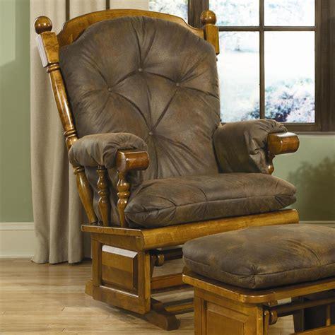 brooks furniture  maple post backraised panel glider rocker atg stores