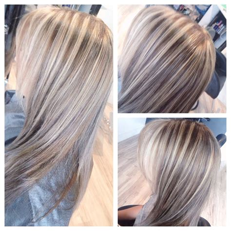 blonde highlights with ash base ash blonde highlights and dark ash base color bybrandy yelp