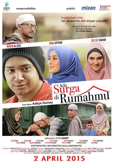 film nuansa islami ada surga di rumahmu perkenalkan poster resminya movie