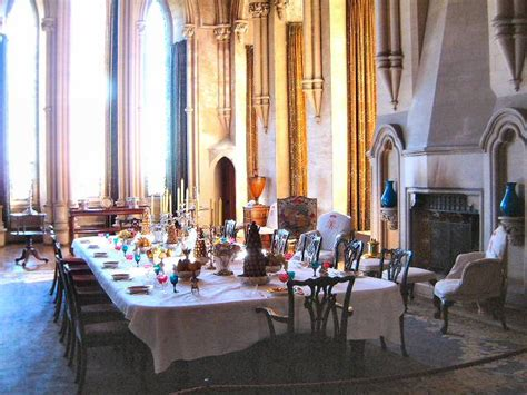Castle Dining Room by Arundel Castle Dining Room