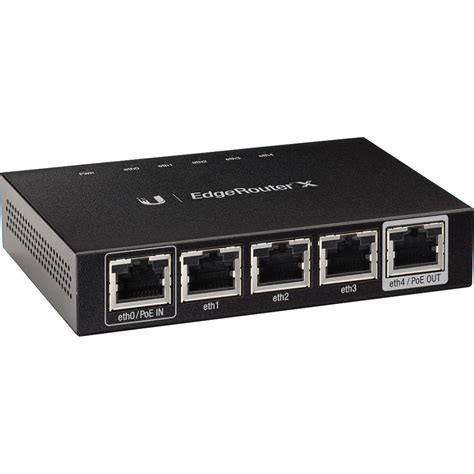 Edge Router Ubiquiti Networks Er X Edgerouter X Er X B H Photo