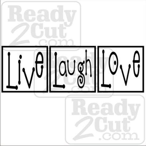 live laugh love movie live laugh love blocks ready 2 cut designs