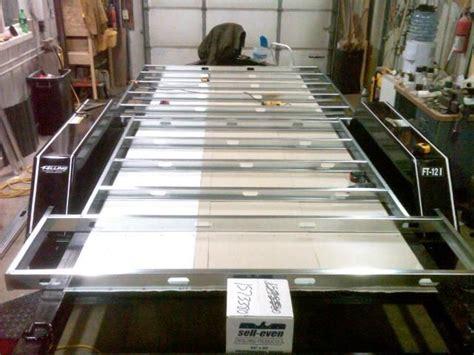 vermin proof aluminum skin installed  trailer frame